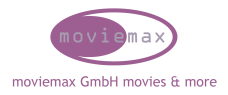 Logo moviemax GmbH movies & more
